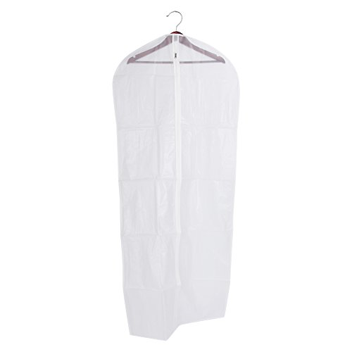 Kleiderbezug Staubdicht, Kleidungsbezug, Kleiderschutz 3 Größen, für Kleidungsanzug Kleiderjacke Reiseaufbewahrungstasche(L)