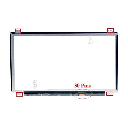 IFINGER Pantalla Compatible para PORTATIL Toshiba Satellite Pro R50-C Series 15.6 HD 1366 X 768 LCD LED Brillo Conector 30 Pin Pines EDP Ver Foto