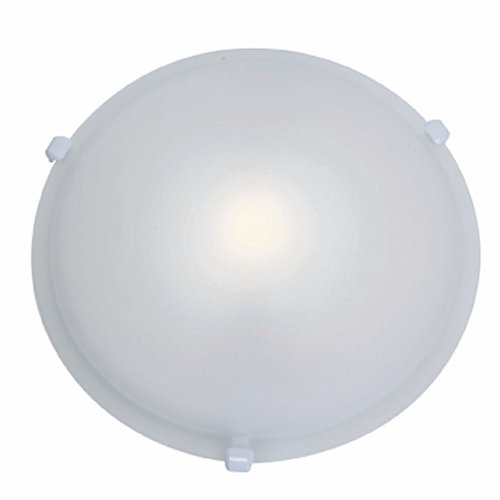 Zugang Lighting Deckenleuchte Nimbus Flush Mount, 50049-WH/FST, 150.00watts, 120.00 volts