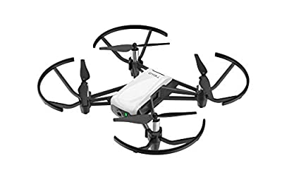 Tello Quadcopter Drone with HD camera and VR,powered by DJI technology and Intel processor,coding education,DIY accessories,throw and fly