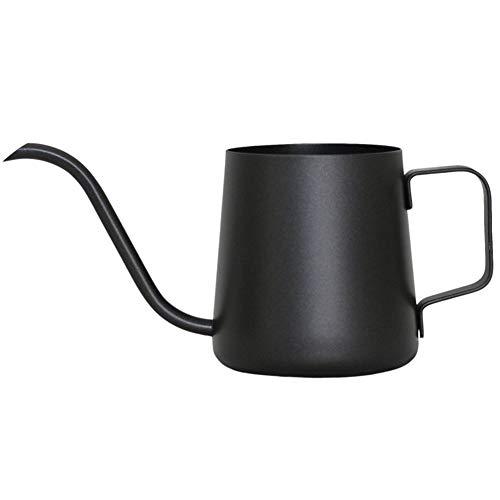 Kaffeekanne Handkaffeekanne Edelstahl 304, hängend Ohr lang Mund klein Mund Mini Haushalt Tropf Filter mit Set Kaffee Utensilien dick 250ml / 350ml-4-250ml