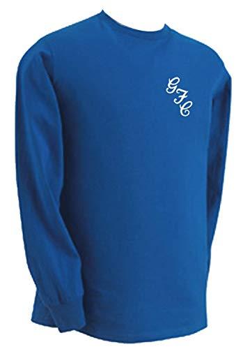 Gillingham FC Gills Football Club Retro Style GFC 69/70 T-Shirt (Large) Blue