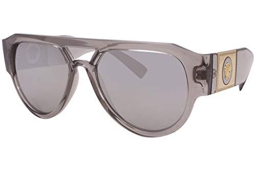 Versace Gafas de sol VE4401 53416G gafas de sol Hombre color Gris plata tamaño de lente 57 mm