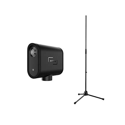 Mevo Start All-in-One 1080P Live Streaming Camera, Bundle with K&M Mic Stand