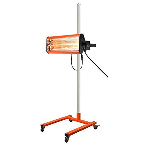Duro Lámpara de horneado de pintura infrarroja de 1050W de la lámpara de calefacción automática de automóviles de calefacción móvil onda corta portátil 220V / 110V for mantenimiento y reparación de au