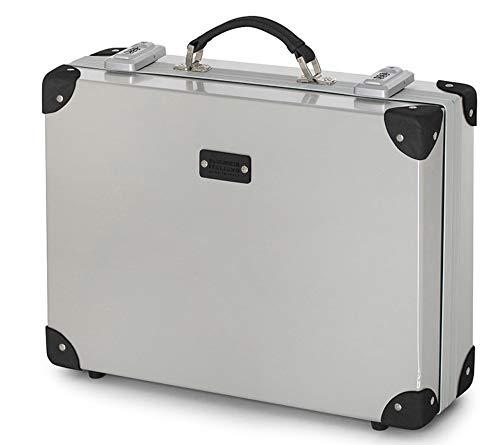 Exclusieve diploma-koffer - aluminium - Attache - aktetas van CiakRoncato - 46 x 36 x 15 cm - Italiaans design - Made in Italy