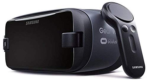 Samsung Gear VR w/Controller 2017/2018 SM-R325 Note9 Ready, for Galaxy Note8, Note5, S9, S8, S7, S6 (International Version) (Renewed)