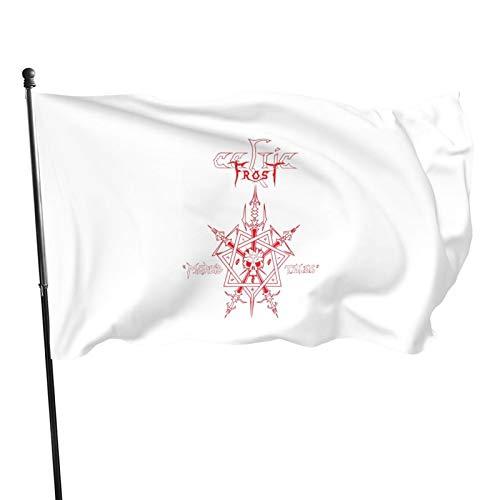 Opplsh Hdrejn Celtic Frost Decorative Garden Flag Yard Banner Garden Flag One Size