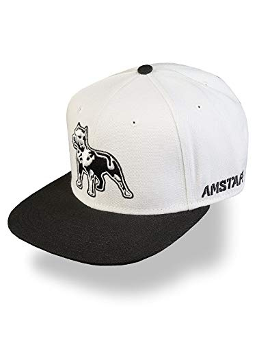 Amstaff Timus Snapback Cap - weiß/schwarz