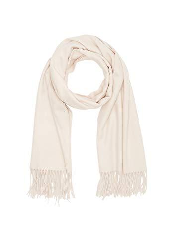 s.Oliver Damen 39.911.91.6052 Schal, Beige (Sandstone Melange 80w0), One Size (Herstellergröße: 1)