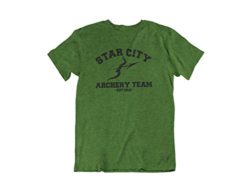 Arrow T-Shirt. Green Arrow Shirt. Star City Archery Team Shirt. Adult Unisex in Multiple Colors up to 3XL
