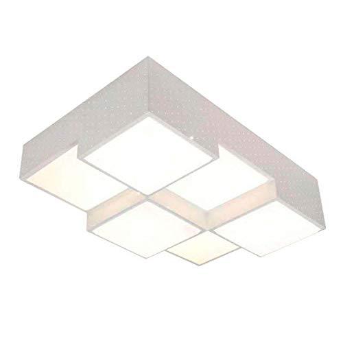 Luminaria KUBB blanco, 72W, Blanco frío