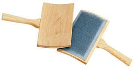curved hand carders