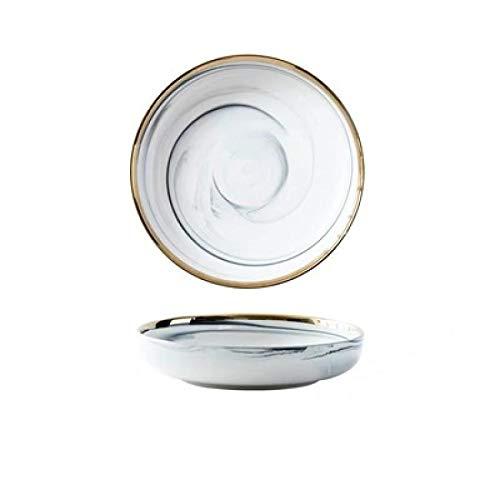 Nordic Dinner Plate Mármol Phnom Penh Vajilla Postre Bowl Hogar Ronda Steak Plato Porcelana Cena Plato Cocina Vajilla