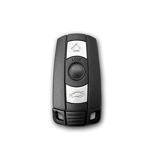 1neiSmartech Scocca Guscio E Lama Estraibile Chiave Telecomando 3 Tasti per Auto Compatibile con Bmw Serie 1 3 5 6 7 X5 X6 Z4 Shell Case Key