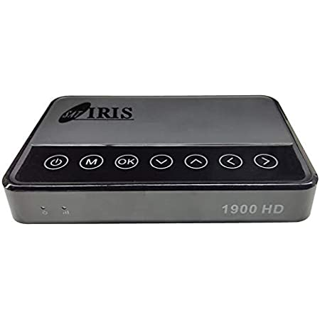 Nuevo Iris 1900 HD Receptor Satélite WiFi USB H265