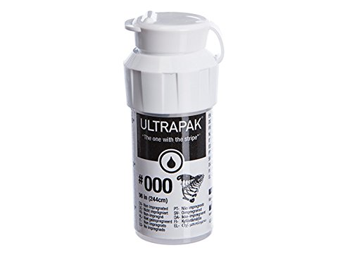 Ultrapak Dental Gingival Retraction Knitted Cord Size 000 Ultradent (9331)