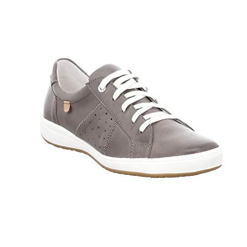 Josef Seibel Caren 01 Sneaker in Übergrößen Grau 67701 133 710 große Damenschuhe, Größe:45