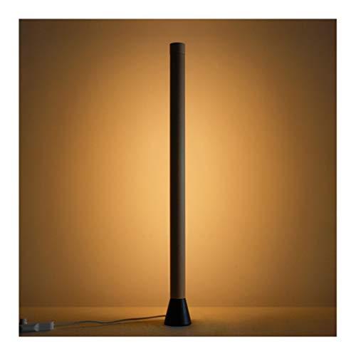 Lámpara de Pie Lámpara de pie de madera Lámpara de pie Lámpara de pie Lámpara de pie Control táctil for sala de estar Sala de cama Oficina Luz de polo alto lámpara de lectura (Model : 2)