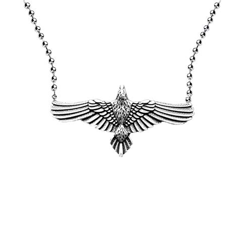Celtic raven necklace Norse Viking odin Animal flying Bird Pagan Flying crow Pendant Necklace Medieval Triple Moon Goddess Star Witchcraft Amulet Talismanes Necklace with stainless steel 24' ball chain witchcraft animal jewelry medieval jewelry