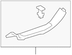Mercedes OFFicial store 55% OFF Benz Genuine Cover Rail 166-680-02-04-9051