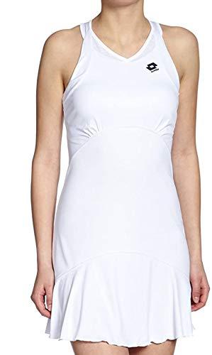 Lotto Sport Robe Muse, Femme, Blanc Blanc Blanc XS (34)