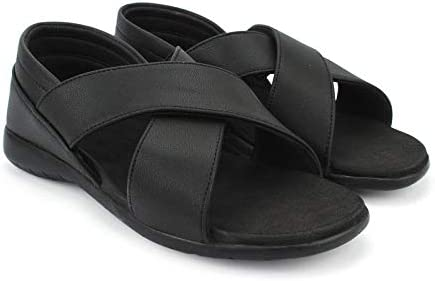 Health FIT Orthopedic Diabetic Heel Pain Relief Soft and Comfortable Flip Flops for Walk Mens Stylish Casual Sandals