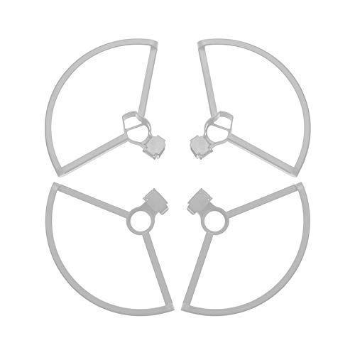 Hélice Protectores de hélice Protectores Anillos de protección con tren de aterrizaje Protector de pierna de apoyo para DJI Mavic Mini Drone Accesorios Accesorios para drones (Color: GY) (Color: R)