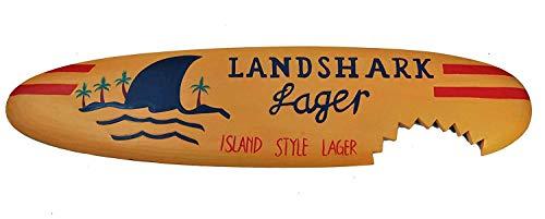 Deko Surfboard Landshark Lager in 100cm zum Aufhängen Lounge Style