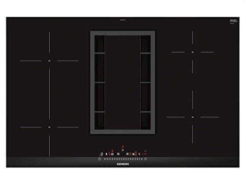 Siemens iQ500 ED875FS11E geïntegreerde kookplaat (inductie, glas/keramiek, zwart, 1400 W, rond