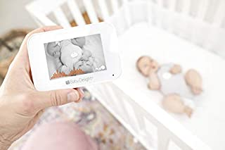 Baby Delight Snuggle Nest Video Baby Monitor with Alarm   3.5