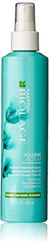 BIOLAGE Volumebloom Full-Lift Volumizer Spray | Leave-In Spray Plumps Hair With Long-Lasting Volume | Paraben-Free | For Fine Hair | 8.5 Fl. Oz.