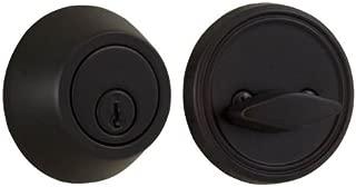 Weslock Premiere Essentials 00271-1-1FR2D Series Deadbolt, Oil Rubbed Bronze