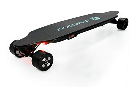 SKATEBOLT Tornado II Electric Skateboard 26 MPH Top Speed 7500 mAh Lithium Battery 4 Speed Modes...