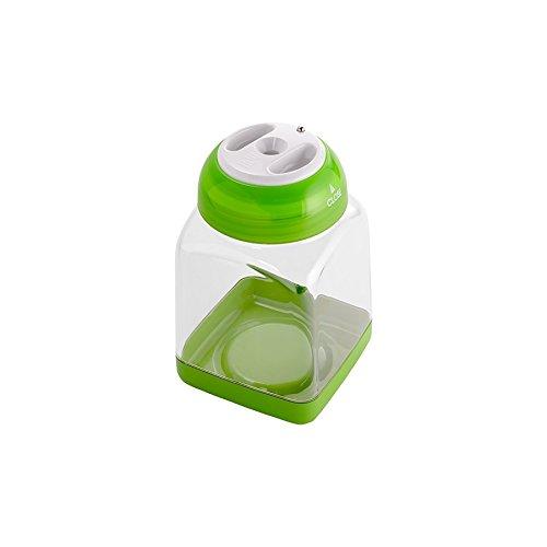 Bote dosificador para conservar especias y condimentos de VacSy, capacidad 0,45l