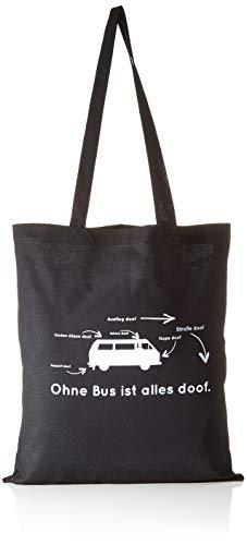 Nerdo zonder bus is alles doof - stoffen zak