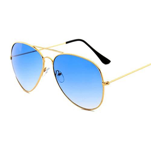 WOJUEF Pilot Sonnenbrille Männer Designer Grün Blau Weiß Übergroßen Sonnenbrille Retro Festival Gläser