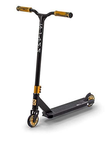 Slamm Scooters Classic VII Roller Unisex Erwachsene, Unisex-Erwachsene, SL1011, Mehrfarbig (Black/Gold), Einheitsgröße