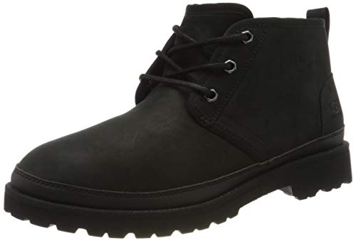 UGG Male Neuland Weather Boot, Black Tnl, 45 EU