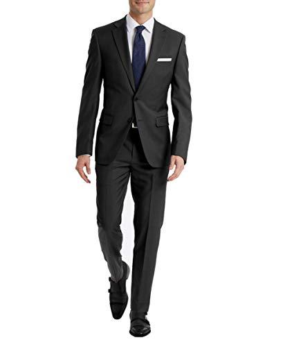 Calvin Klein Charcoal Grey Slim Fit Suit
