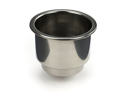 Whitecap Industries Stainless Steel Flush Drink Holder