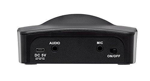 Telefunken T90120 Funk-Kopfhörer TV-Sound analoge Übertragung, Schwarz