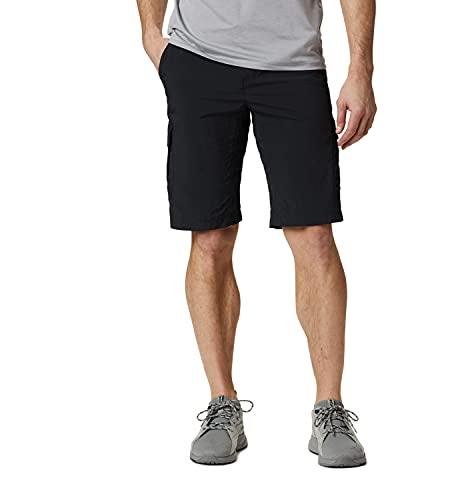 Columbia Silver Ridge II, Pantalones cortos cargo, Hombre, Negro (Black), Talla W34/L12