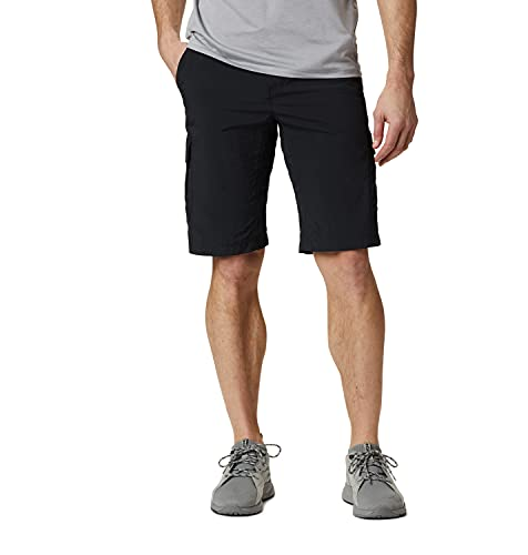 Columbia Silver Ridge II, Pantalones cortos cargo, Hombre, Negro...