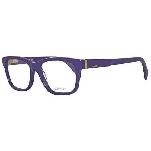 Diesel DL5072 53081 Diesel Optical Frame DL5072 081 53 Rechteckig Brillengestelle 53, Violett