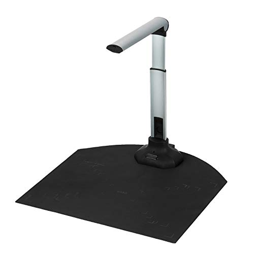Kacsoo Portable HD scanner 12MP document camera A3/A4 scan size Real-time projection video Automatic levelling and deskew technology Multi-language selection and recognition