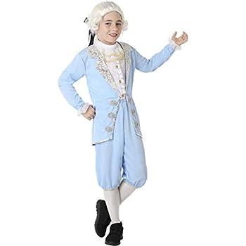 Atosa Disfraz de Veneciano Época Azul para niño 5 a 6 años: Amazon ...