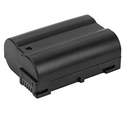 Mothinessto Batería De Iones De Litio, Cámara De Protección Ambiental EN-EL15 Batería 2700Mah De Gran Capacidad De Alta Velocidad para Cámara V1 D500 D600 D610 D750 D800 D7000 D7200