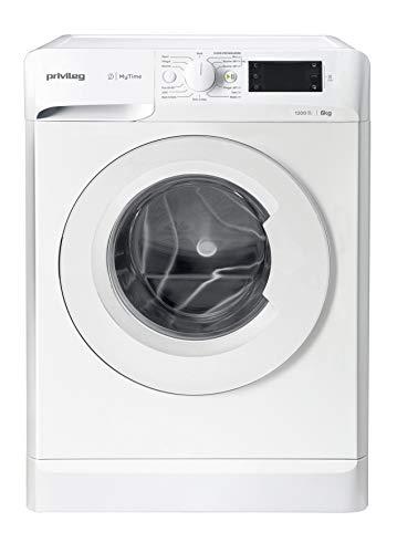 Privileg PWFS MT 61252 Waschmaschine Frontlader/ 1151 UpM/ 6 kg/ Startzeitvorwahl/ Kurzprogramme/ Eco-Motor/ Wolle-Programm/ Mehrfachwasserschutz
