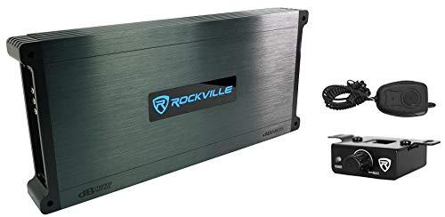 Rockville DBM65 6-Channel 2600w Peak/660w RMS CEA Rated Marine/Boat Amplifier